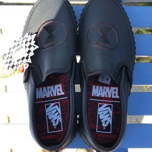 Marvel black widow vans NEW